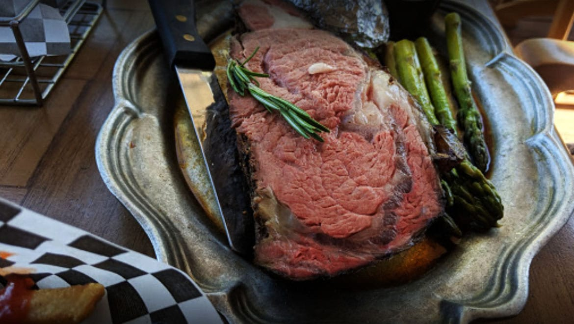 Juicy Prime rib - ready to eat