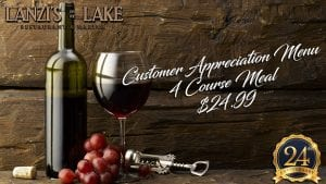 Customer Appreciation Menu through November